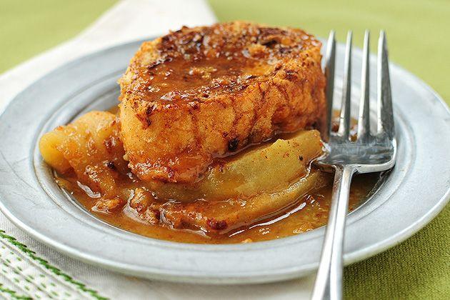 Tasty Kitchen Blog: Apple Bourbon French Toast Casserole.