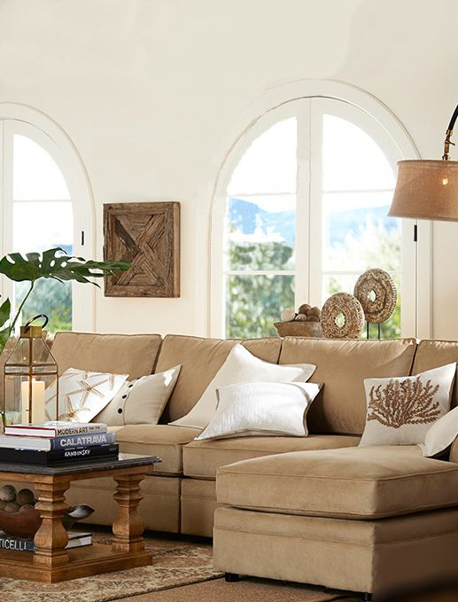 Cozy Neutral Living Room House Warmings Pinterest
