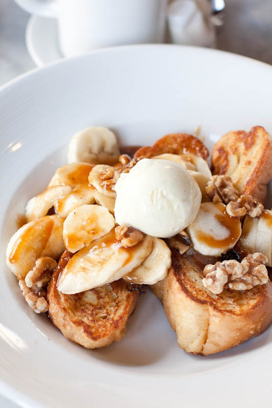 Bananas Foster French Toast | Breakfast Recipes | Pinterest