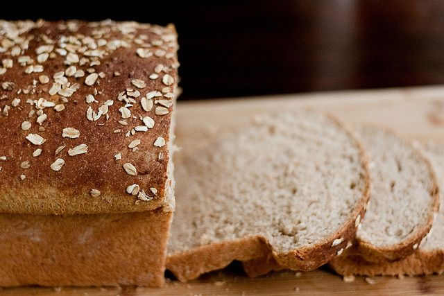 Oatmeal Buttermilk Bread | Bread | Pinterest