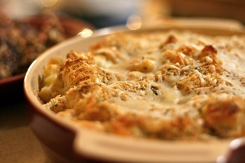 roasted poblano mac and cheese | A little on the side | Pinterest