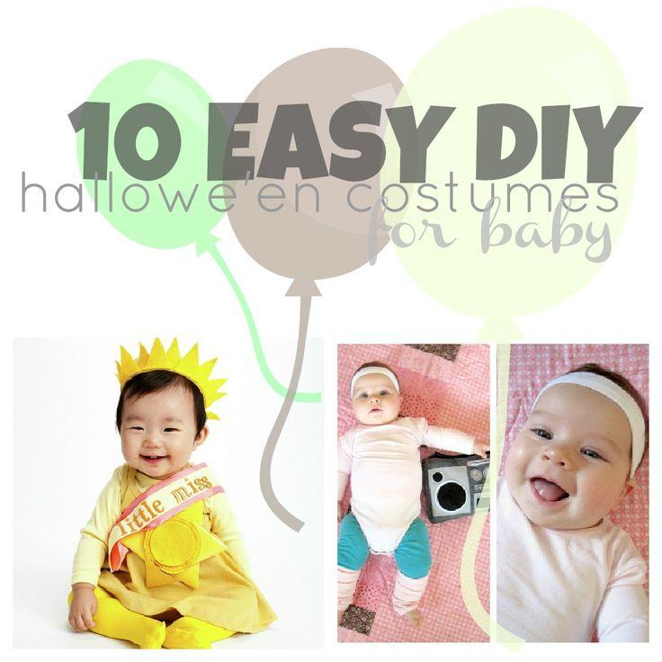 ... (Easy) #DIY #Halloween #Costumes For Baby | Disney #Baby #toddler