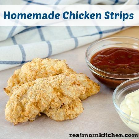Chicken Recipe : Homemade Chicken Strips | Chicken Recipe | Pinterest