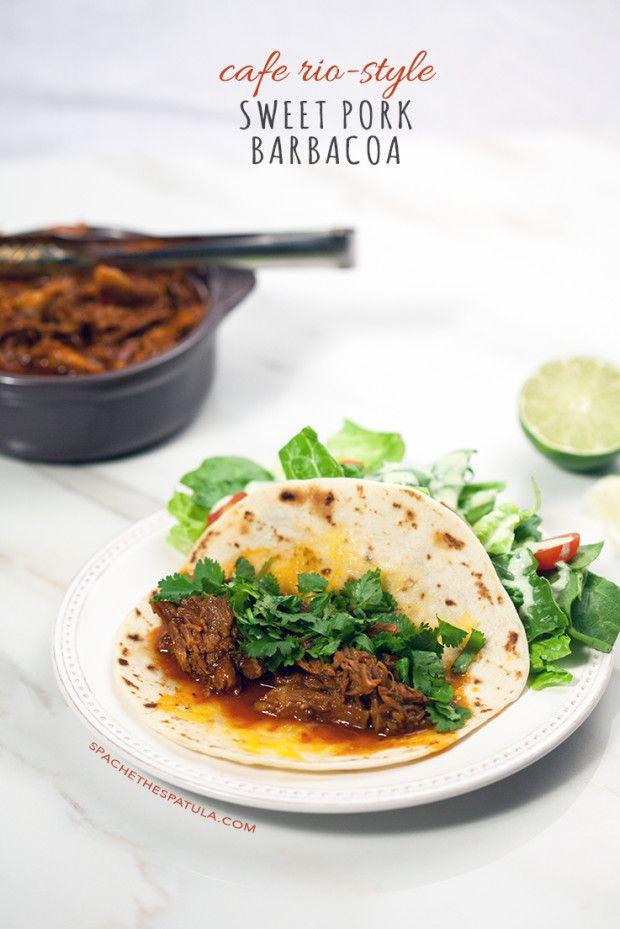 Slow Cooked Sweet Barbacoa Pork Recipe — Dishmaps