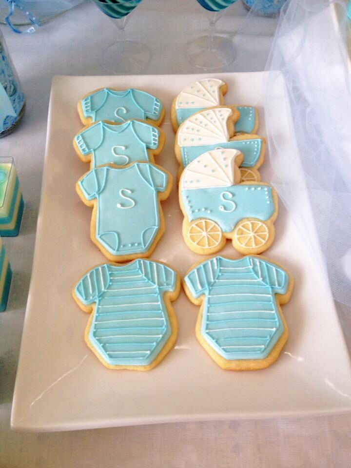 baby shower sugar cookies mother daughter bonding pinterest