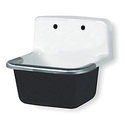 Service Sink : Service Sink, Wall Hung, Cast Iron cast iron sinks Pinterest