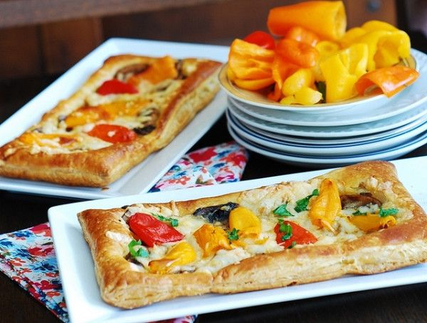 This heirloom tomato and mozzarella tart is so easy to make even the ...