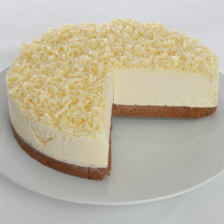 White Chocolate Truffle Cheesecake | Cheesecake | Pinterest