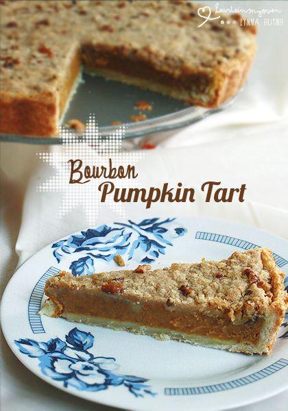 Bourbon Pumpkin Tart | Pumpkin Fest | Pinterest
