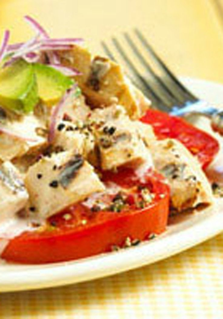 Margarita-Grilled Chicken Salad -- A margarita drink mix marinade ...