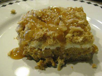 Pumpkin Cheesecake Crumble Bars | Pumpkin | Pinterest