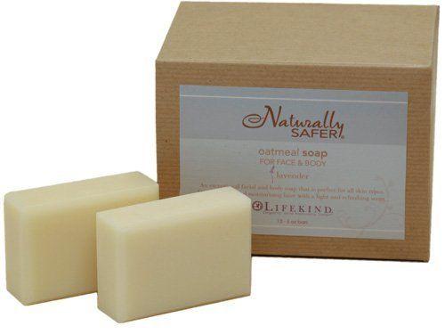 Safer All-Vegetable Bar Soap 6 pack 5 oz. bars ; Lavender Oatmeal ...