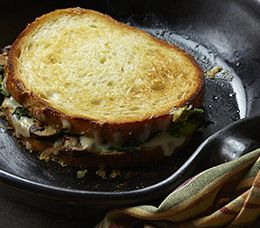 Broccoli Rabe and Fontina Grilled Cheese :: Recipes :: MyPanera