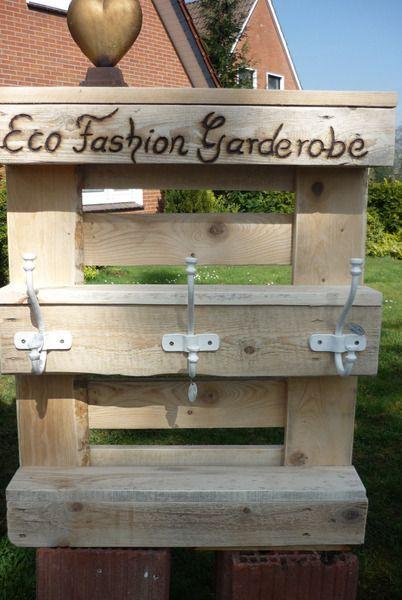 Garderobe Kreativ Ideen : Palettenmöbel vintageGarderobe von Holz Kreativ auf DaWandacom