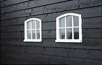 Gevelbekleding hout zwart