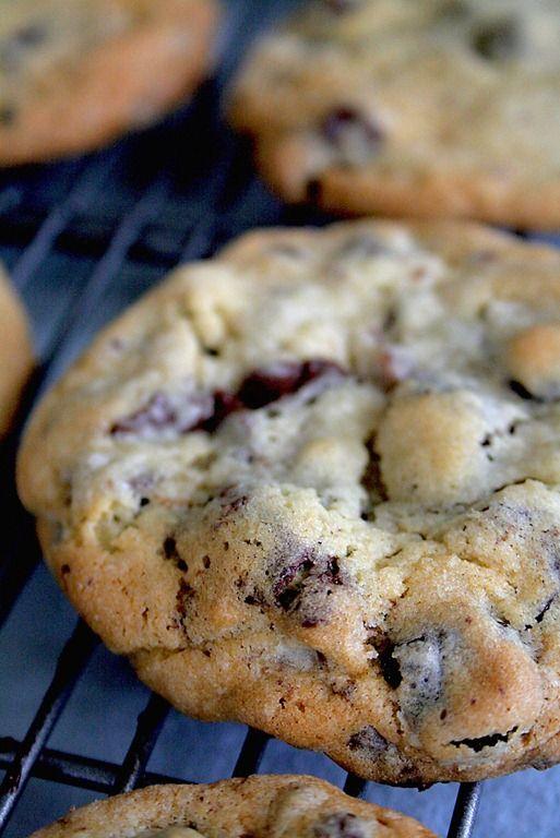 Chocolate Cherry Chunk #cookies