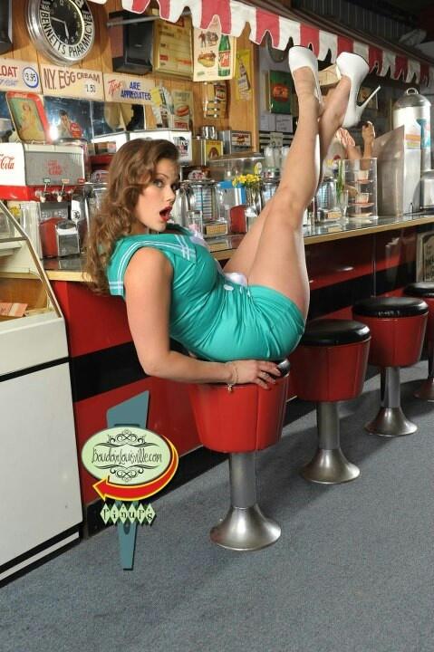 Soda shop hottie pinups pinterest