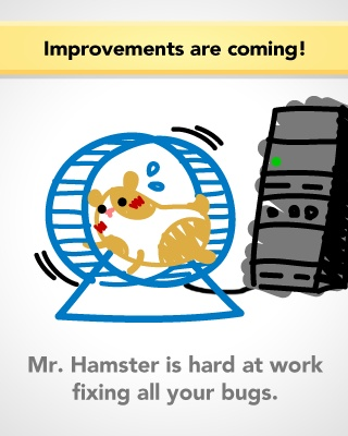 So cute! Keep it up lil' hamster!