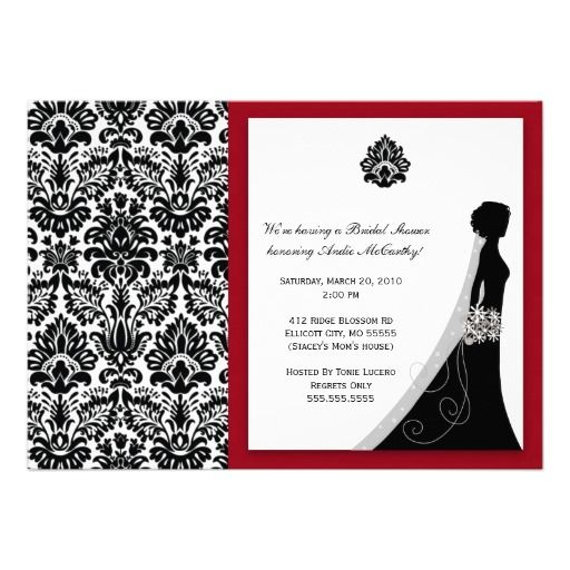 Red And Black Invitations with perfect invitation ideas