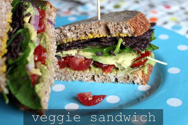 Turkey And Veggie Sandwich Recipe — Dishmaps