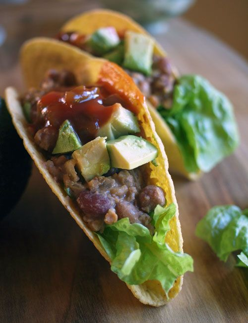 easy vegan bean tacos meatless monday fig amp cherry