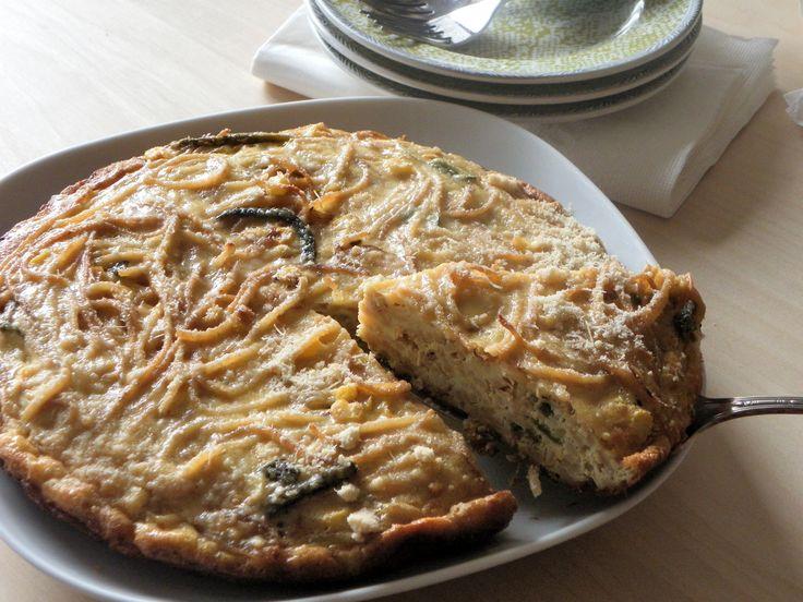Frittata de rajas poblanas y elote | Cocina que te cocina | Pinterest