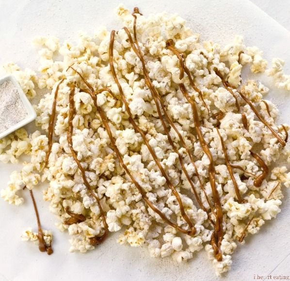 Browned Butter Snickerdoodle Popcorn