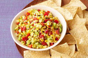 Fresh Corn Avocado Salsa | Party/Holiday Fare | Pinterest