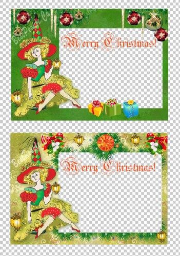 christmas card png templates 4x6 inch frame background 2 700. Black Bedroom Furniture Sets. Home Design Ideas