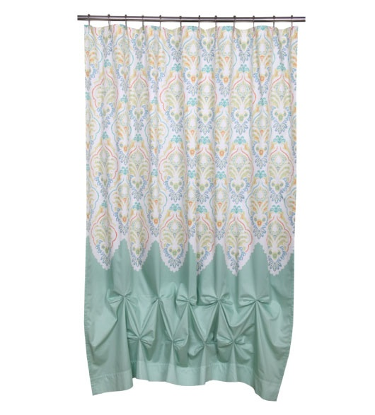 unique jasmin bathroom shower curtain