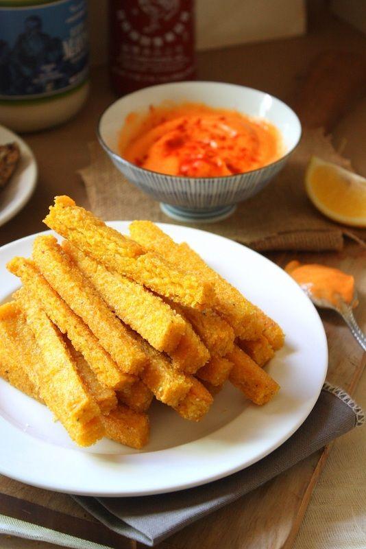Cheezy Baked Polenta Fries | Gluten-Free/Soy-Free/Vegan Vittles ...
