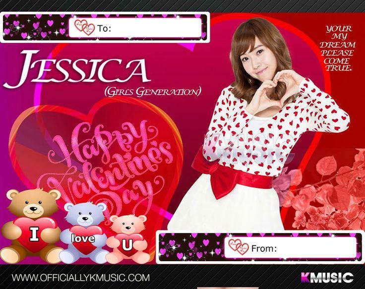 valentine card kpop
