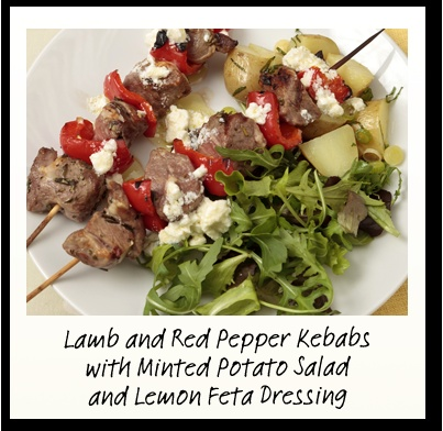 Lamb Kebabs With Charmoula Citrus Dressing Recipe — Dishmaps