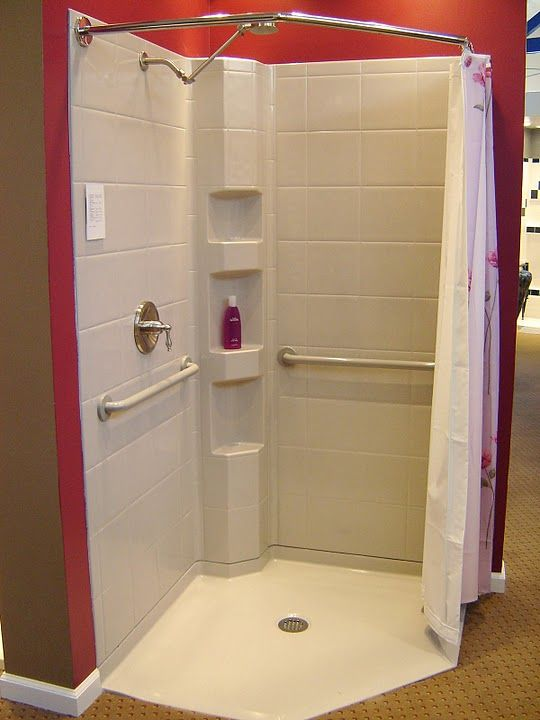 Corner shower designs