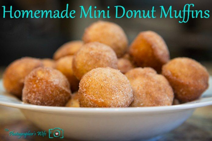 Donut Muffins | Yum! | Pinterest