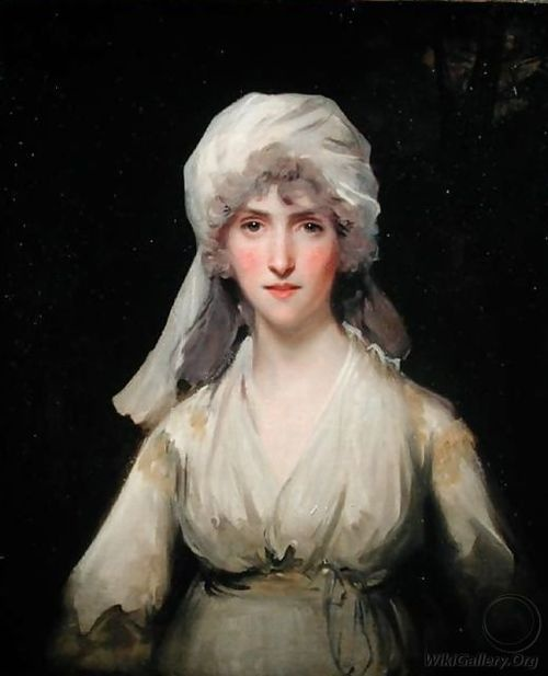 Portrait of a Lady wearing a Turban by John Hoppner, 1790