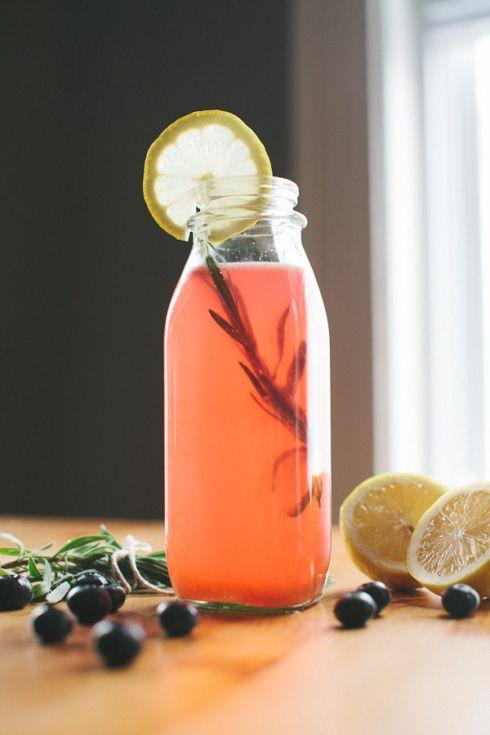 Blueberry-Lavender Lemonade | For the thirsty | Pinterest
