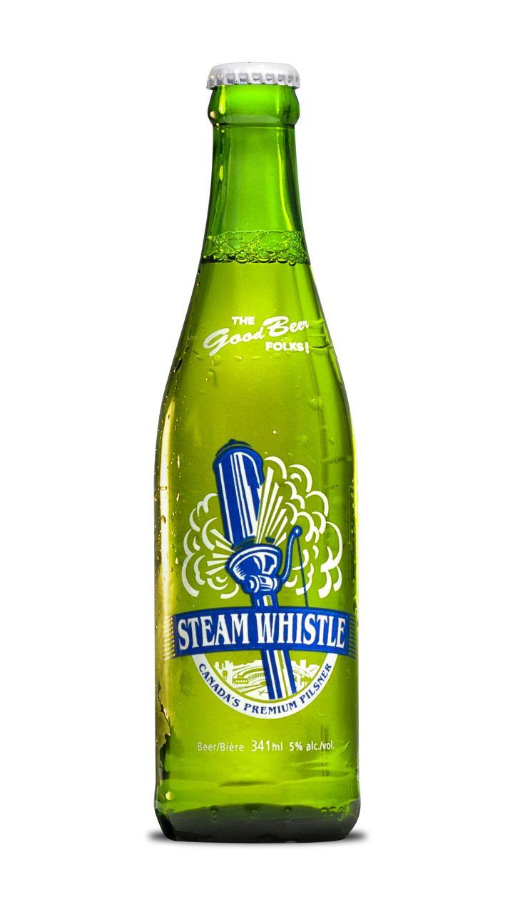 One of my fav beer bottle designs! Retro beer bottle by Steam Whistle ...