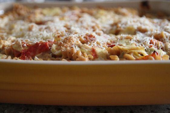 CHICKEN AND ARTICHOKE BAKED PASTA | Dinner/Main Dish Recipes | Pinter ...