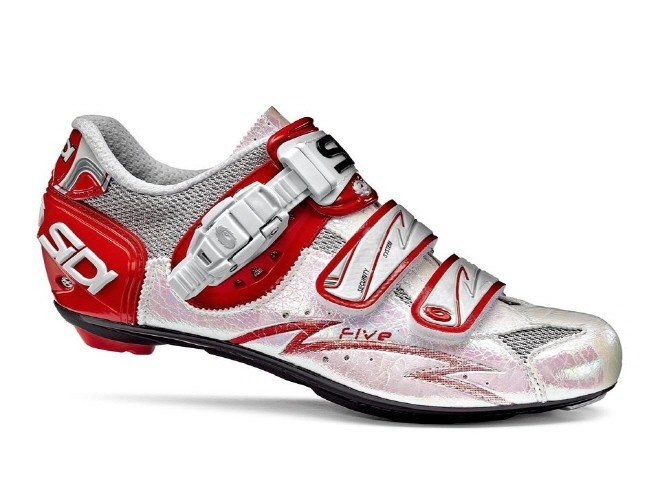 such a sucker for siren red on cycling shoes. Sidi Five Womens