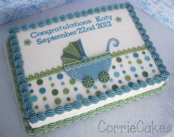 sheet cake cakes for baby showers christenings baptisms
