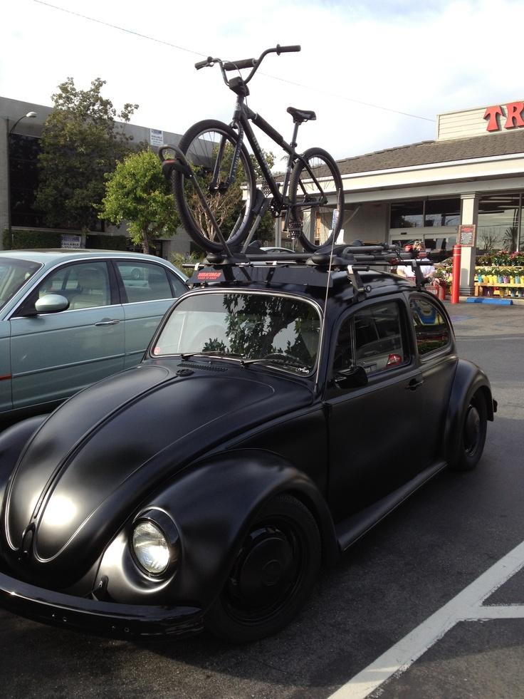 flat black vw beetle. Black Bedroom Furniture Sets. Home Design Ideas