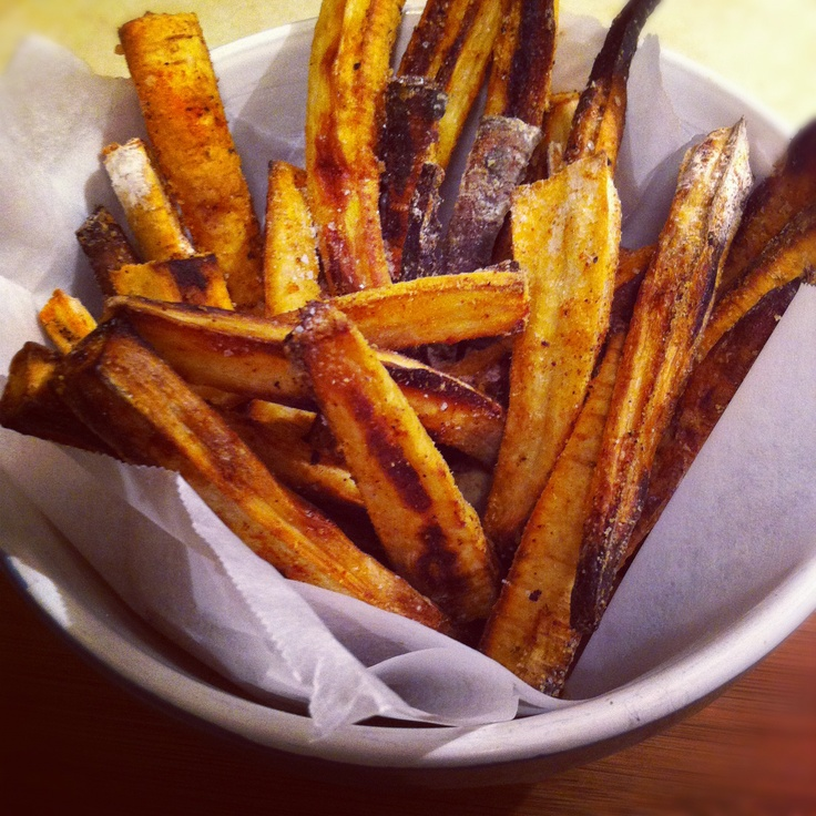 "Parsnip ""Fries"" | Summer's Harvest Blog | Pinterest"