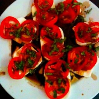 Quick caprese salad   My Homemade Meals   Pinterest