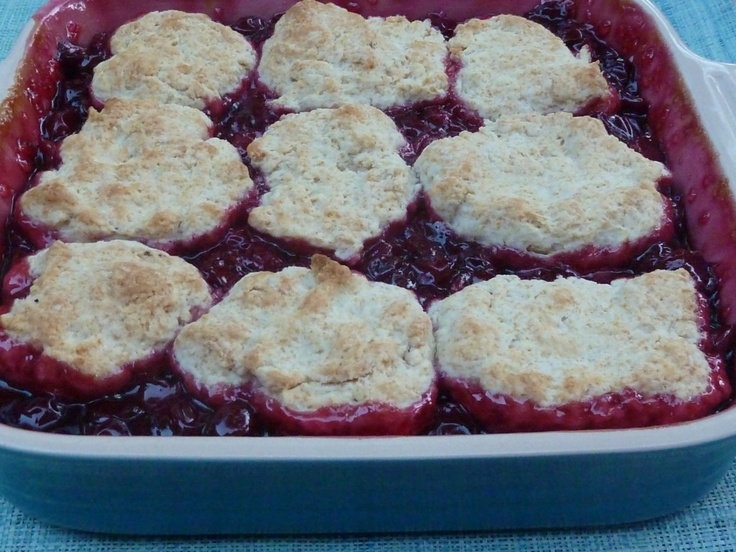 Fresh Cherry Cobbler | recipes | Pinterest