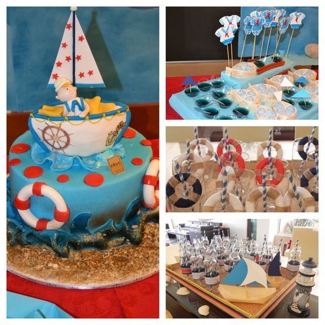 sailor nautical baby shower party ideas