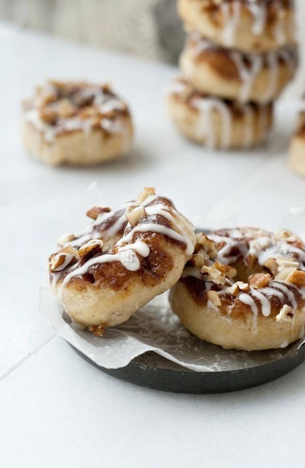 Cinnamon Roll Baked Doughnuts | Gourmet | Pinterest