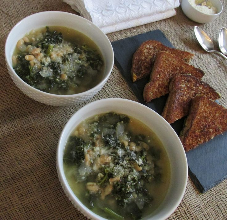 Easy Peasy Kale, White Bean, and Quinoa Soup (with a kick) — My ...