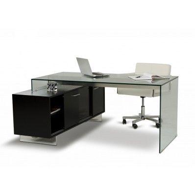 Alaska Black Oak Office Desk | Office - Downstairs - Desk | Pinterest