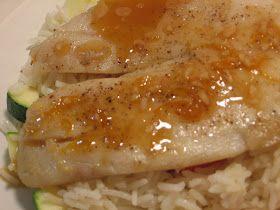 Jenn's Food Journey: Tilapia with Orange Glaze